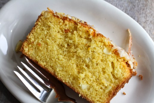 double-corn tea cake