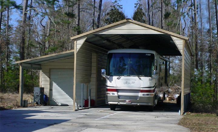 RV Storage Buildings Metal RV Shelters RV Carports