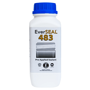 EverSeal 483 pre applied liquid thread sealant for air and water and nitrogen