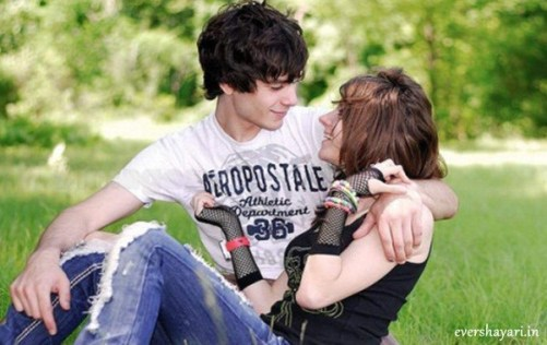 Hindi Romantic Sms Shayari For Girlfriend And Boyfriend