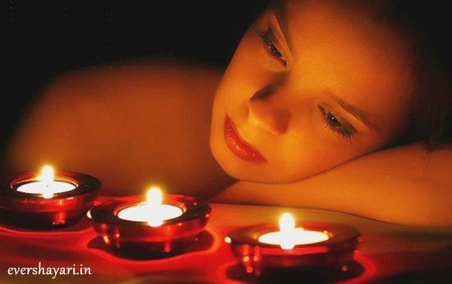 Sad Girl On Diwali