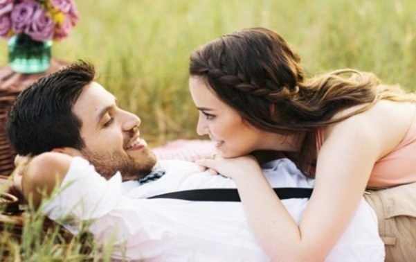 Romantic Husband Wife Image