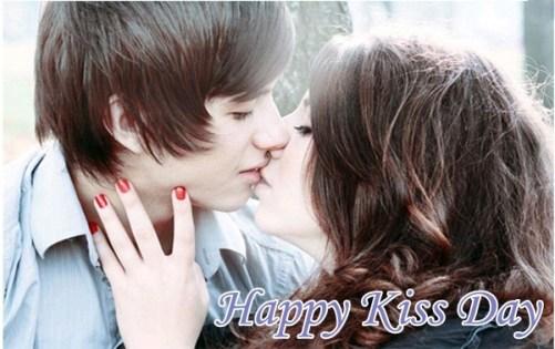 Very Romantic Kiss day Shayari For Girlfriend
