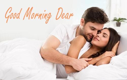 Good morning dear imagemCouple in morning,Love couple in morning.
