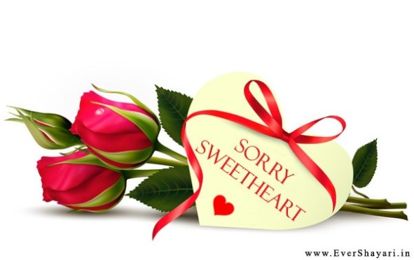 Romantic Sorry Shayari For Girlfriend Boyfriend In Hindi
