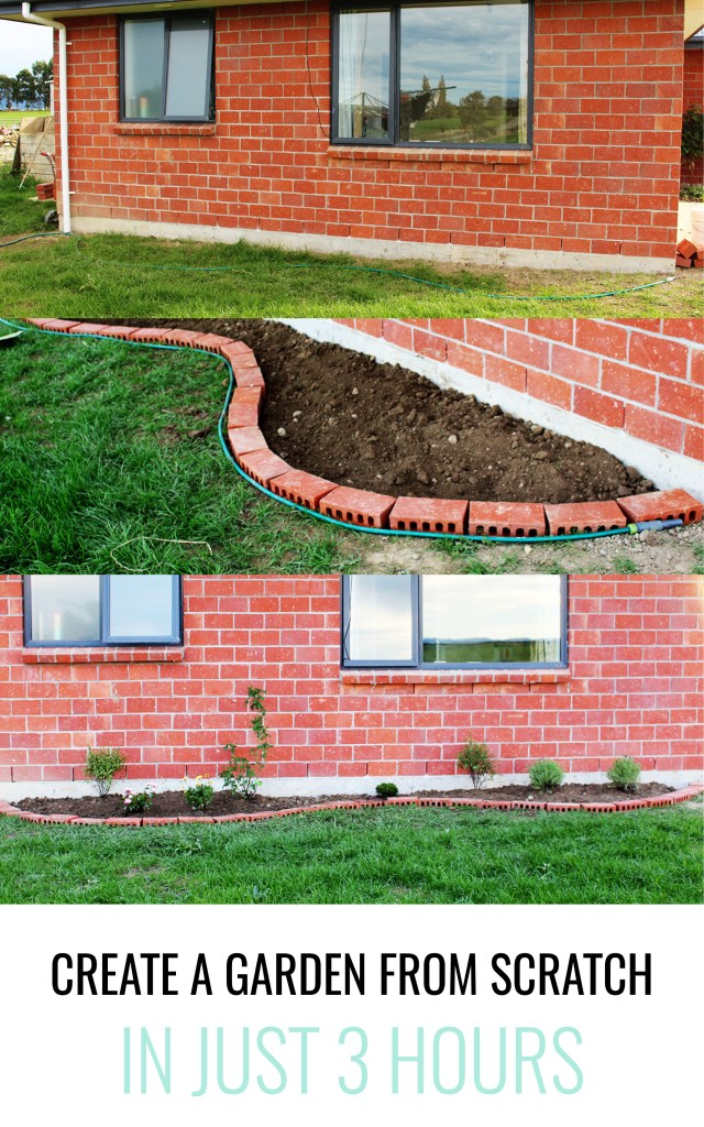Create a garden from scratch in 3 hours ever so britty for Designing your garden from scratch