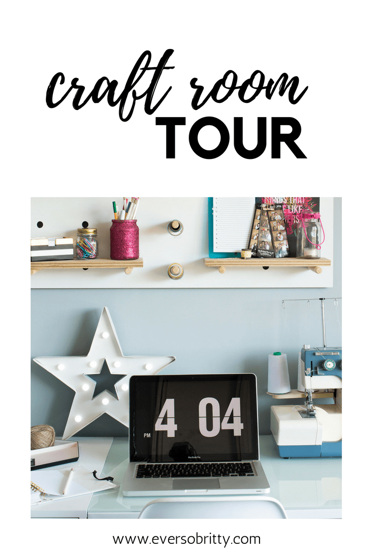 Office craftroom tour Bedroom Craft Room Home Office Tour Creative Space With Ever So Britty Blossom Heart Quilts My Craft Room Tour Ever So Britty