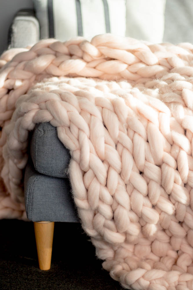 Heart from Hazel Chunky Arm Knit Throw