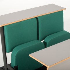 Upholstered Posture Chair Drafting With Arms Diploma Lecture Theatre Seating | Evertaut