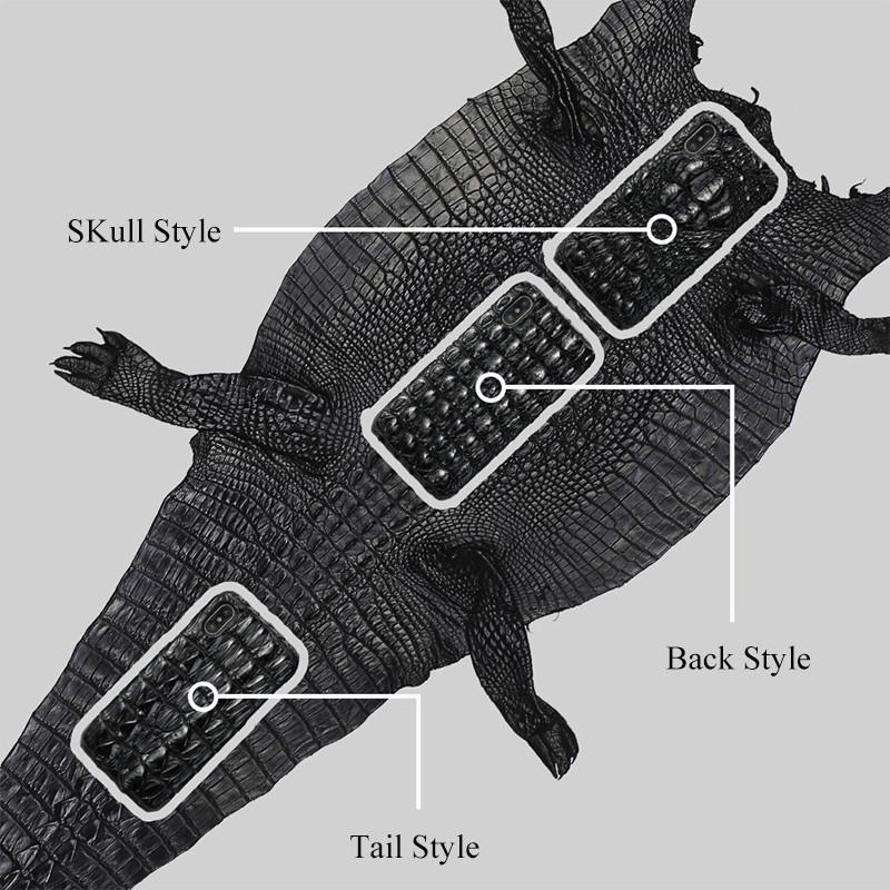 Genuine Croc Leather