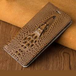Genuine 3D Crocodile Pattern Case for Samsung Galaxy S21 Note Ultra