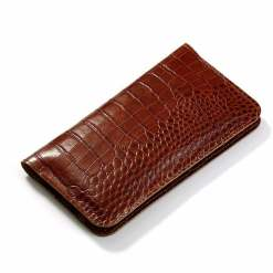 Genuine Leather Carrier Phone Wallet