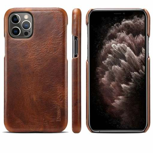 Retro Oil Wax Leather Case for iPhone 11 12 Pro Max XS 8 Plus