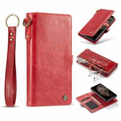 Retro Magnetic Detachable Leather iPhone Case