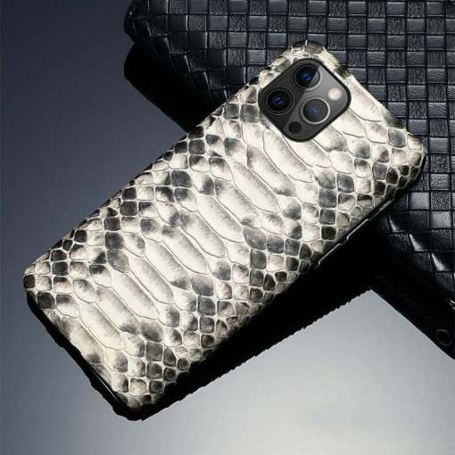 Real Snakeskin iPhone 12 Pro Max Case