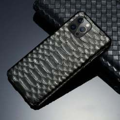 Genuine Real Snakeskin iPhone 12 Pro Max Case
