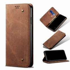 Genuine Leather Wallet Case for iPhone 12 11 Pro Max X