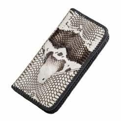 Genuine Cobra Snake Skin Leather Wallet