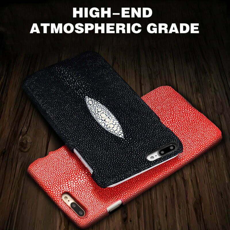 Real Genuine Stingray Skin iPhone 6 Plus Case