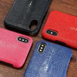 Real Genuine Stingray Skin iPhone X Case