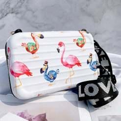Fashion Flamingo Women crossbody handbag