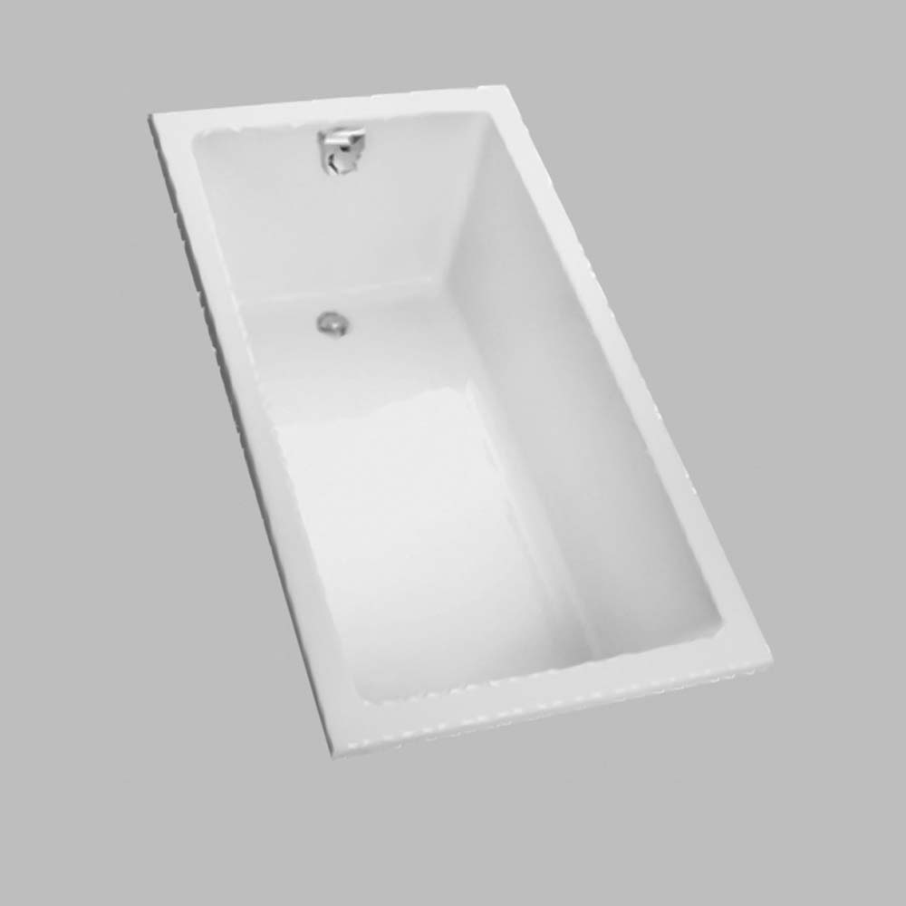 TOTO 60 Enameled Cast Iron DropIn Bathtub  Free Shipping