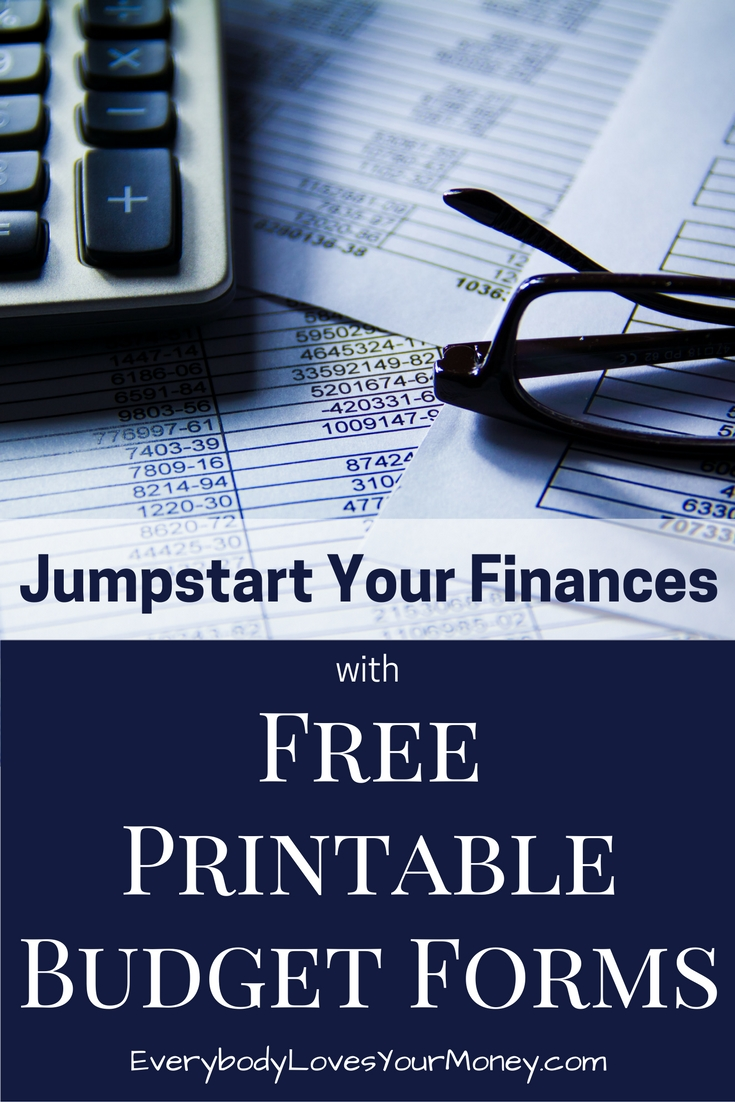 Jumpstart Your Finances with a Printable Monthly Budget Worksheet ...