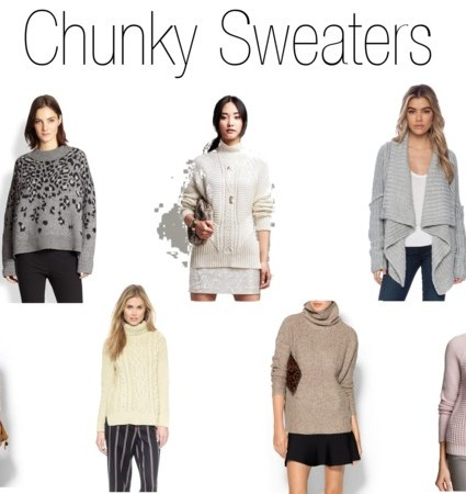 Friday Favorites: Chunky Sweaters