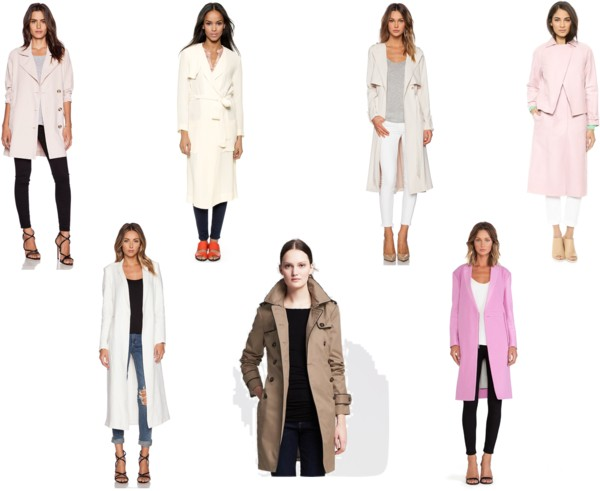 Current Obsession: Trench Coats