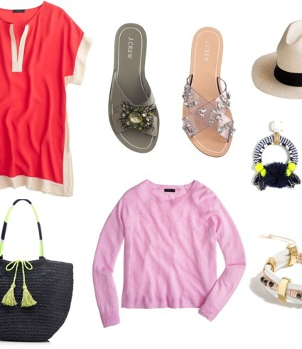 J. Crew Top Favs and Giveaway