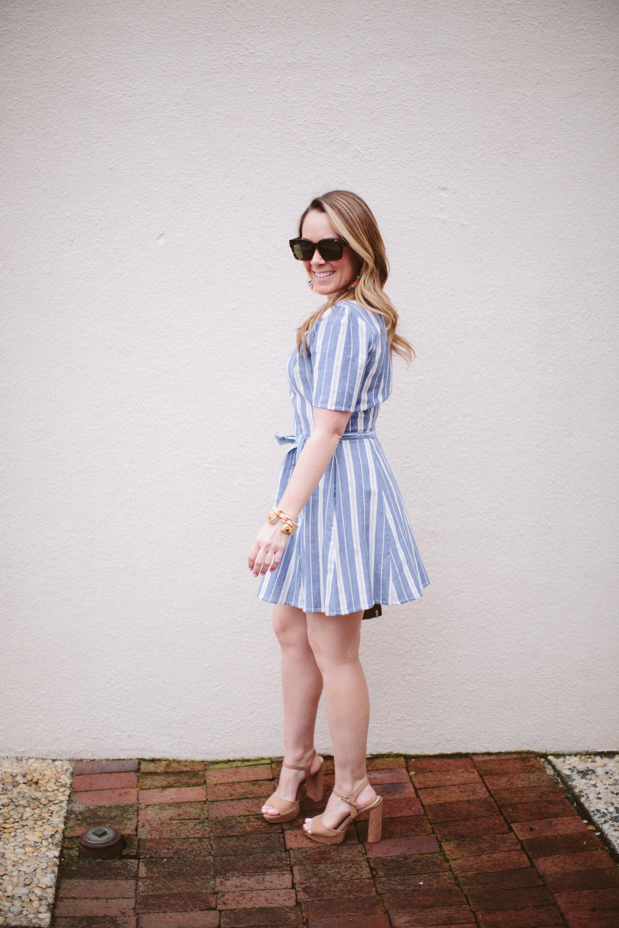 Stripped Dress, Spring Trends