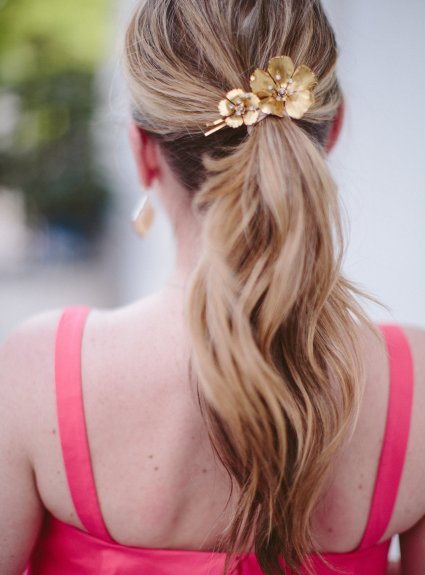 One Hair Accessory, Three Different Hair Styles