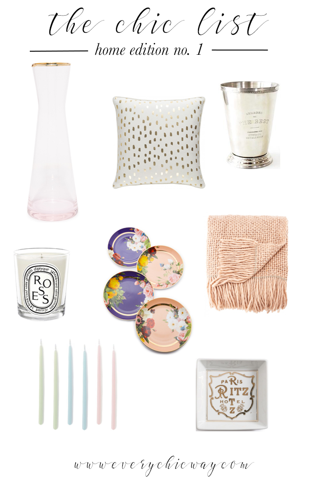 The Chic List, Easy Home Updates for Spring