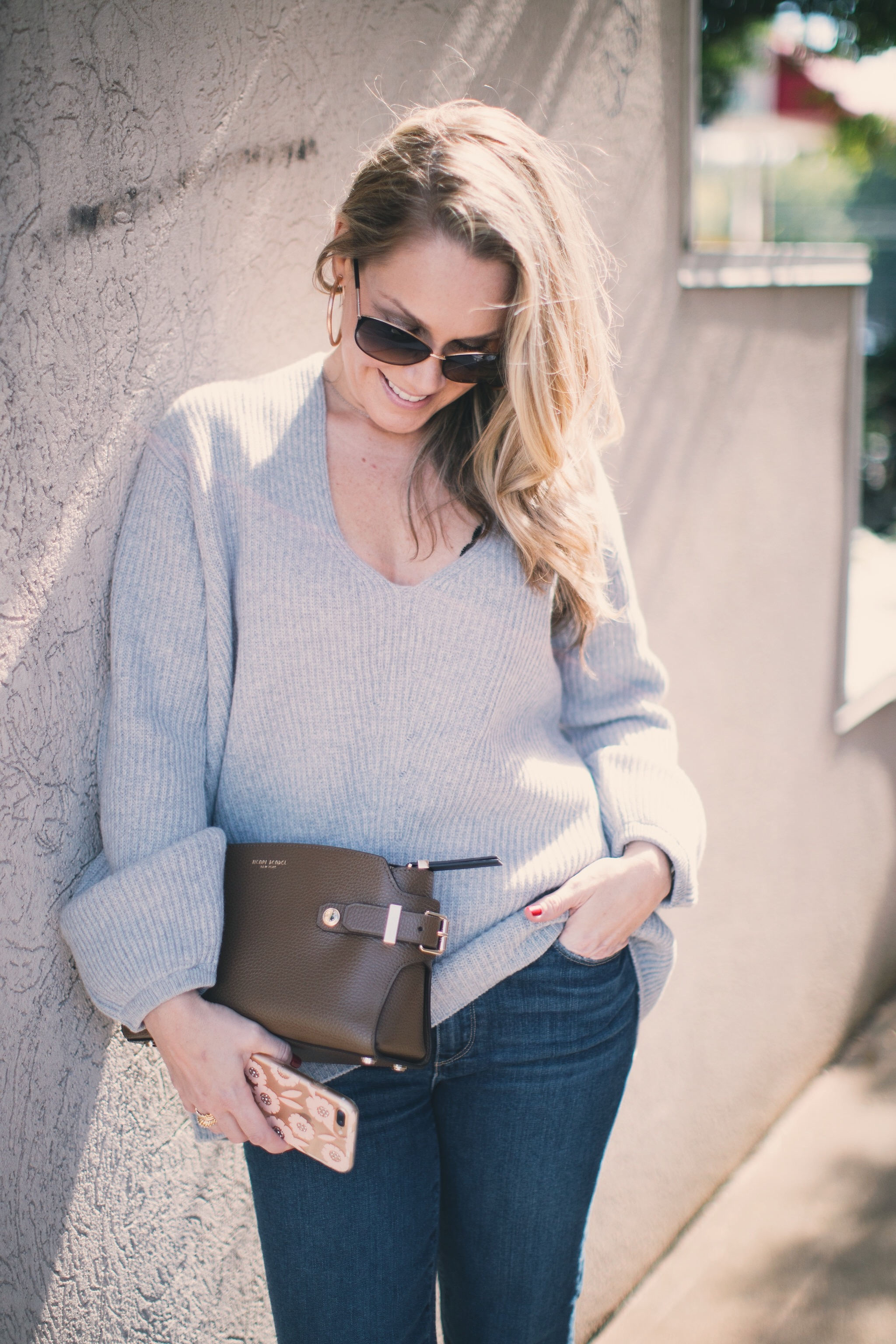 Cuyana Oversized Ribbed Sweater by North Carolina fashion blogger Every Chic Way