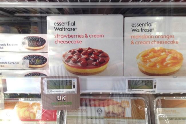 waitrose desserts