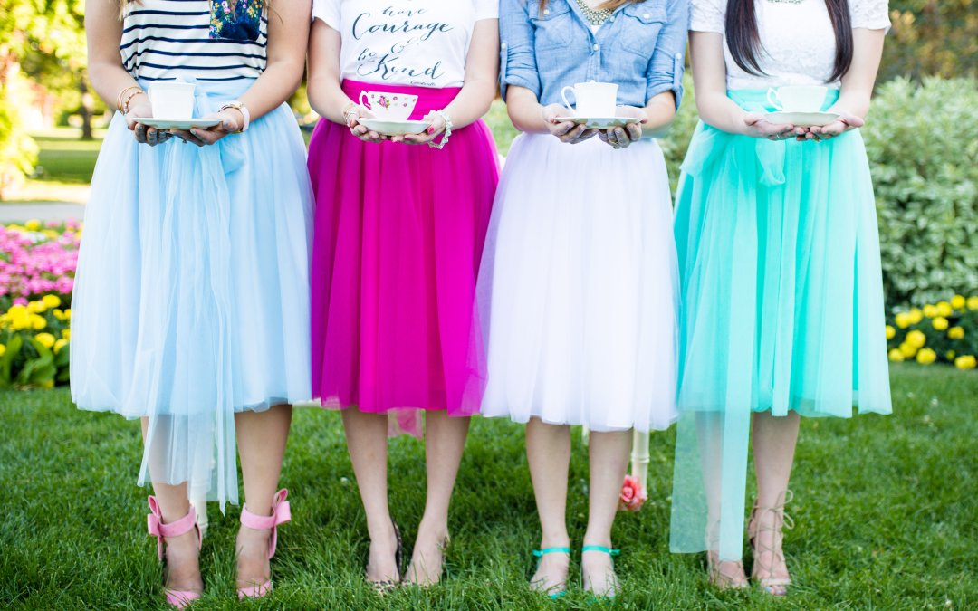 Tea Parties and Tulle Skirts: 4 Ways to Style a Tulle Skirt