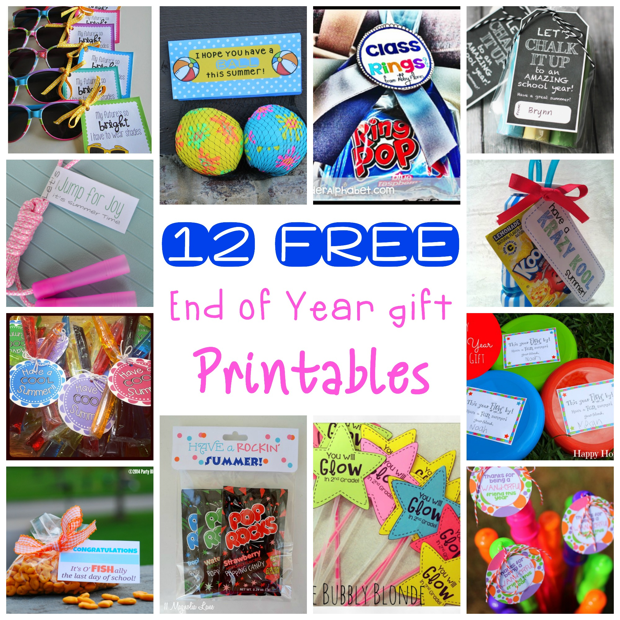12 End Of The Year Classmate T Free Printables