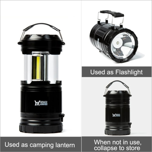 Best Essential Camping Gear List - Portabe LED Outdoor Camping Light