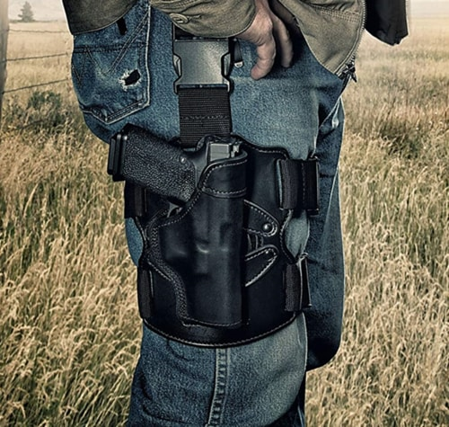 Gun Safety Training - Best Concealed Carry Thigh Holster