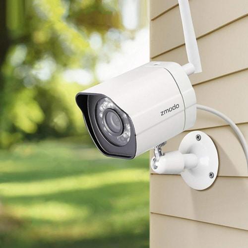 Home Defense Plan - Zmodo Wireless Security Camera System