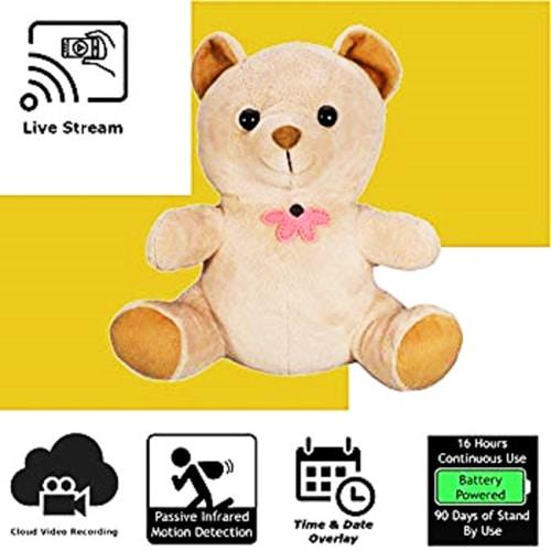 Real Spy Gadgets - Nanny Cam Bear