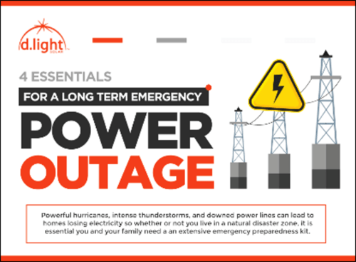 4 Essentials for A Long Term Emergency Power Outage