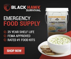 Blackhawk Survival Emergency Food Supply