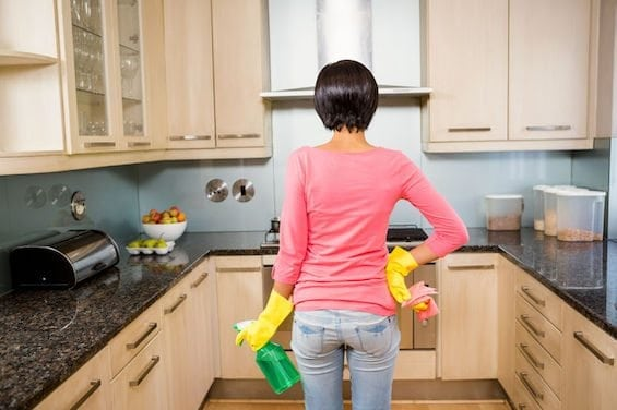kitchen cabinet cleaner recipe islands on wheels how to clean gunk and grime from cabinets