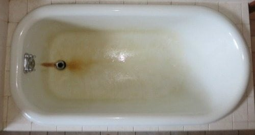 Help Rust Stains On My Fiberglass Bathtub