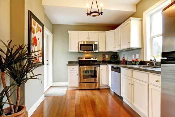 best way to remove grease from kitchen cabinets shelves wall mounted how clean gunk and grime