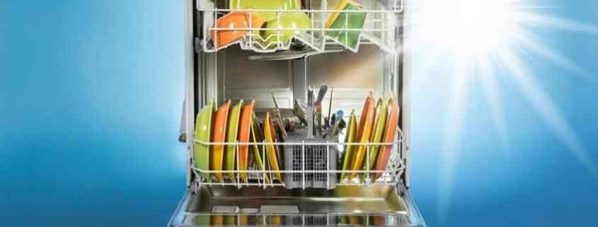 dishwasher-filled-with-clean-dishes-and-bright-start