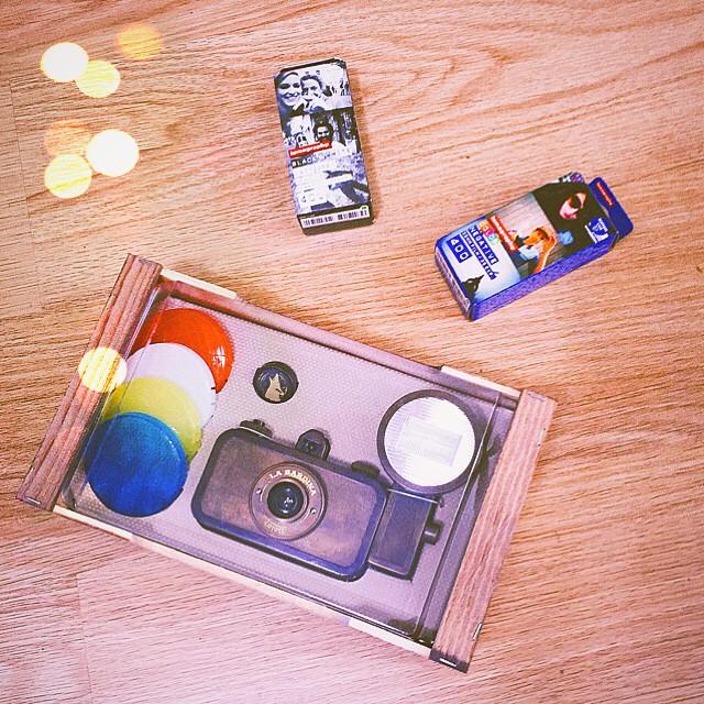 #lasardina at home! Let's begin this #lomography experience  è arrivata La Sardina a casa, una macchina fotografica tutta speciale che non vedo l'ora di provare  nei prossimi mesi mi cimenterò nella #lomografia