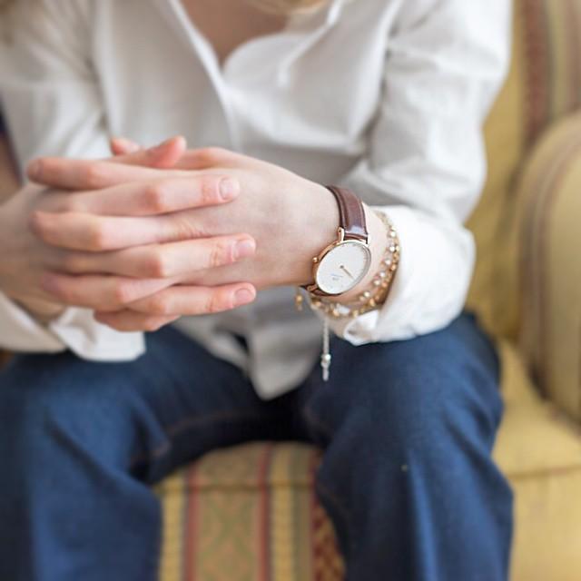 New post on #everydaycoffee (link in bio) #danielwellington watch is the main subject ❤️ nuovo post sul blog! Oggi vi faccio vedere un outfit col mio @danielwellingtonwatches , siete in tempo fino al 15 aprile per usufruire del 15% su un orologio Daniel Wellington utilizzando il codice EVERYDAYCOFFEE