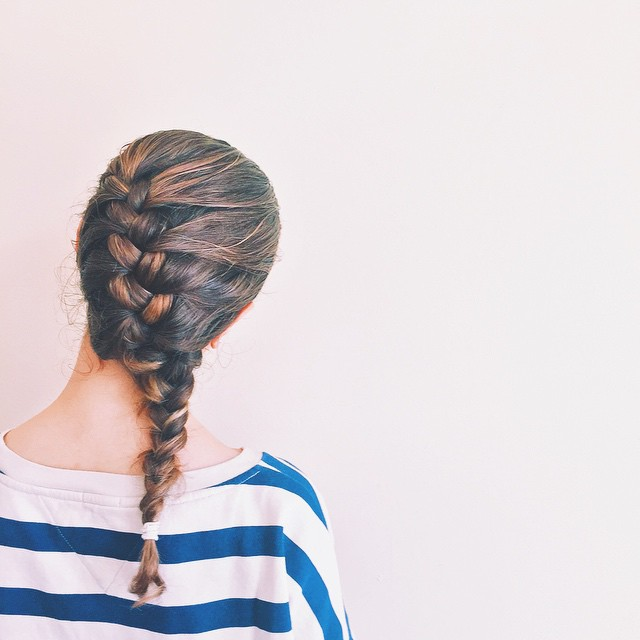 This is a braid-new day!  #braid #braidstyle #sidedbraid